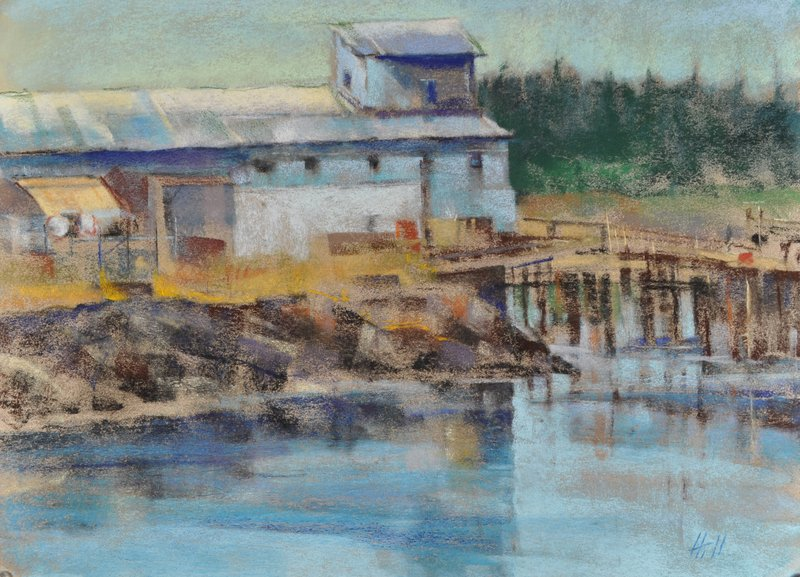 Baring the soul-Old Cannery near Friday Harbor