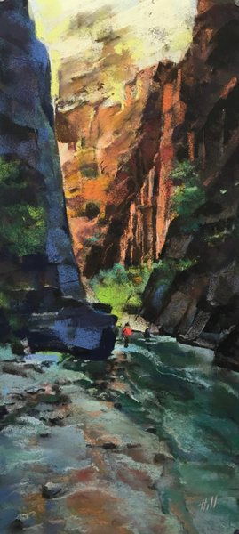 October evening, Narrows Canyon