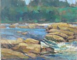 Painted during the Plein Air Richmond in June 2012.